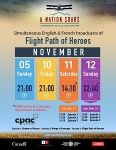 Flight Path of Heros 2017